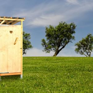 Trockentoilette als Biotoilette für den Outdoor Bereich