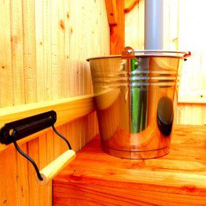 Streutoilette als Kompostklo